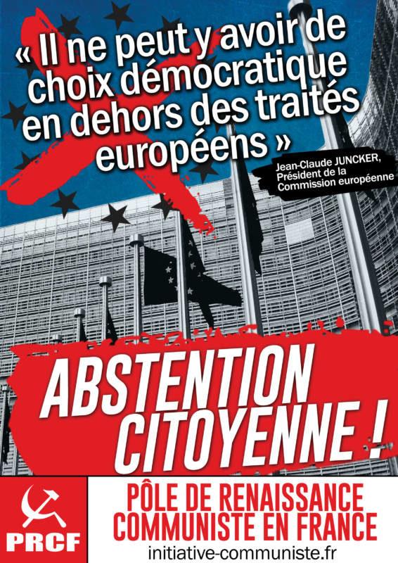 L'abstention citoyenne de masse, c'est bon pour l'action de classe ! dans - DROITS