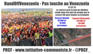 Venezuela : le concert putschiste fait un bide, le pays mobilisé pour la paix