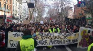 Plus de 110 000 manifestants pour l'#ActeXIII des #GiletsJaunes