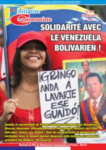 Initiative Communiste n°201 – Février 2019 est paru. Achetez-le, Abonnez-vous