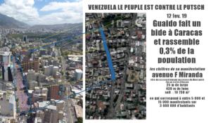 Venezuela : Soutien populaire à Maduro, bide retentissant des manifestations de Guaidó !