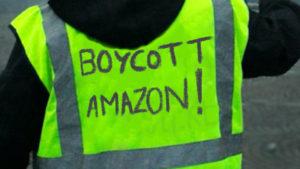 """Répression politique : Amazon licencie des salariés qui ont affiché leur soutien aux blocages des """"gilets jaunes"""""""