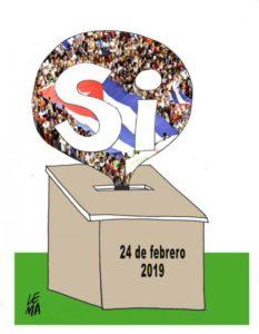 Les cubains écrivent leur constitution et votent par referendum #acte15 #gilets jaunes