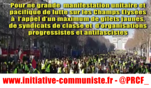 Et maintenant l'interdiction des manifestations en gilet jaune ?
