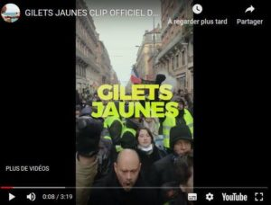 Musique : les clips des Gilets Jaunes