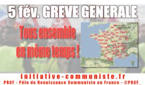 Grève générale le 5 février à l'appel de la CGT et des gilets jaunes – carte des manifestations / comment faire grève