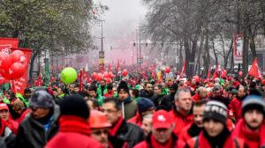 Les travailleurs belges confirment que la retraite par points c'est la baisse des pensions et que c'est un ordre de l'Union Européenne !