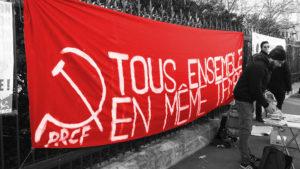 """""""Unir dans l'action les vrais communistes, les syndicalistes de classe, les patriotes progressistes, les amis de la paix !"""" l'édito d'IC n°207"""