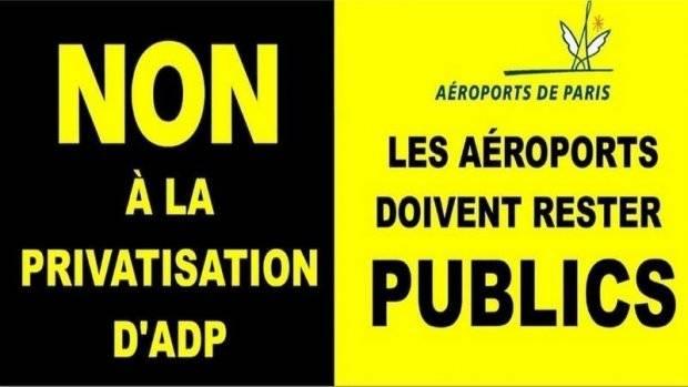 Macron privatise Aéroports de Paris au moment où la justice dénonce sa privatisation de l'aéroport de Blagnac dans - DROITS ADP-privatisation