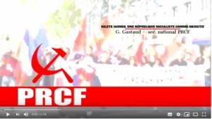 #GiletsJaunes, la république socialiste en commun par G Gastaud #vidéo #acte18