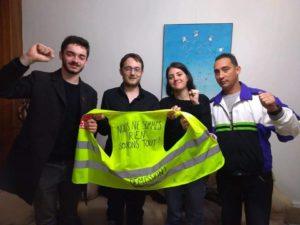 Les JRCF s'entretiennent avec Royner Toledo, de l'Union de la Jeunesse de Cuba