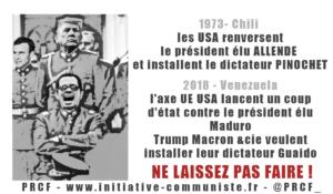 Venezuela, le fils de Salvador Allende écrit à Macron !