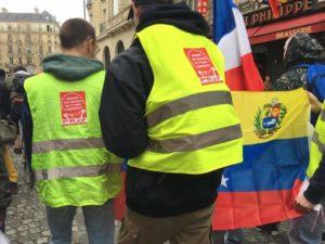 Avec les JRCF la jeunesse de France solidaire du Venezuela Bolivarien