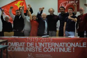 Il y a 100 ans l'internationale communiste : retour sur la conférence internationale du 30 mars 2019 à Paris !