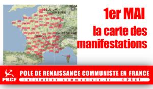 1er mai : la carte des manifestations