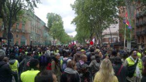 #GiletsJaunes : après la l'acte 24, le #1ermai la convergence des luttes est lancée ! #vidéo #photos