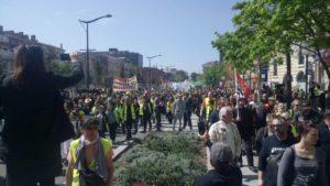 #ActeXXII mobilisation en hausse & défense du droit de manifester