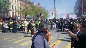 La répression de la manifestation à Toulouse ou la fascisation En Marche