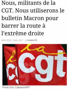 """Etrange """"rempart contre l'extrême droite"""", vraiment ! Par Floréal, PRCF"""