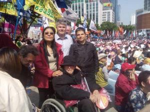 Pour le 1er mai, le PRCF présent à Séoul et à Cuba