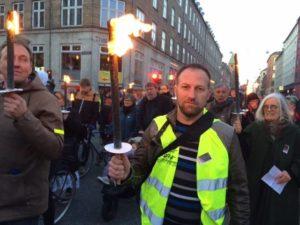 Avec le PRCF, les Gilets jaunes à l'honneur à Copenhague pour la célébration de la victoire contre le nazisme avec le DKP !