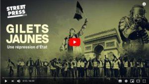 Avec Gilets Jaunes une répression d'État, StreetPress documente la fascisation En Marche !