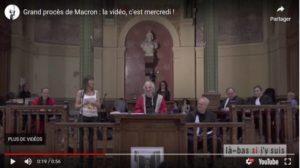 Le réquisitoire de Frédéric Lordon au procès d'Emmanuel Macron !