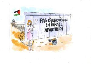 """100 artistes signent pour protester contre l'Eurovision en Israël sur une terre """"d'apartheid"""""""
