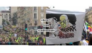 #StopLoiBlanquer et #Acte27 des #GiletsJaunes : la colère gronde !