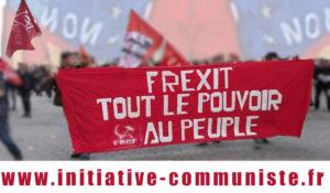 29 mai 2019 : la seule issue positive à la crise politique française, c'est de construire le FREXIT PROGRESSISTE !…