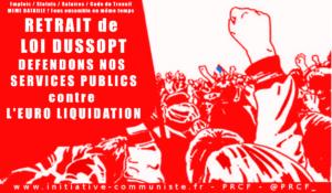 Loi Dussopt, circulaires Philippe et Castaner : vers la destruction des services publics départementaux, de l'inspection du travail à l'écologie !