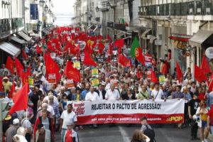 Élections européennes, des réactions des partis communistes en Grèce, en Espagne, au Portugal.