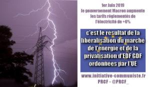 Hausse des tarifs de l'électricité : C'est l'Union Européenne qui est responsable !