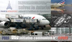 Tutoriel : signez pour le référendum contre la privatisation d'Aéroport de Paris.