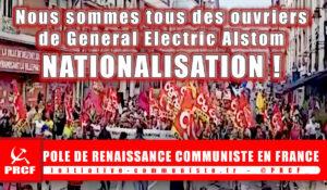 Nous sommes tous des ouvriers de #Belfort ! nationalisons #GE et #Alstom !