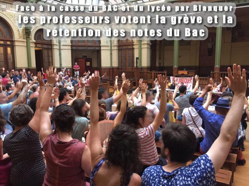 Solidarité du PRCF et des JRCF avec les enseignants en lutte dans - DROITS