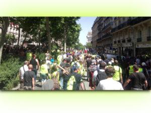 Retour en images sur l'#Acte33 des #GiletsJaunes, temps forts contre les #violencespolicières !