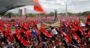 Ce 19 juillet, les « internationalistes » étaient au Nicaragua