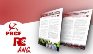 Pas de vacances pour la résistance : l'appel d'organisations communistes.
