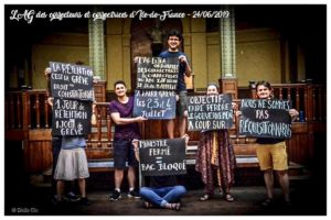 Le P.R.C.F. solidaire des professeurs en lutte contre la casse du BAC – 5 juillet 2019 !