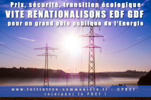 Stoppons l'euro destruction d'EDF et ENGIE : renationalisation à 100% #Tract #Hercule