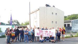Corrèze : les militants du PRCF aux cotés des postiers en grève contre la suppression de 17% des tournées des facteurs.