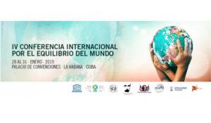 60 ans de la révolution cubaine : les interventions de Enrique Ubieta et Elier Ramirez à la 4e conférence pour l'équilibre du monde.