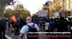 En vidéo, paroles des livreurs Deliveroo en lutte pour les salaires