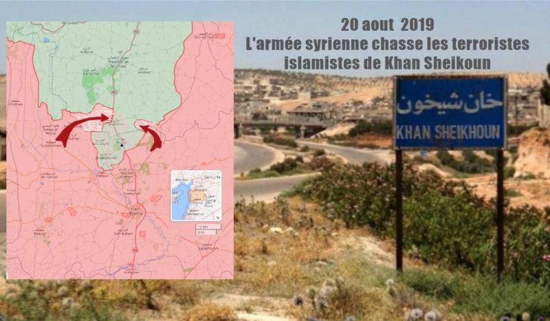 Syrie : l'armée syrienne chasse les djihadistes du sud de la poche d'Idlib !