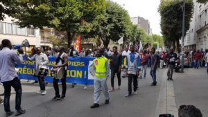 Chronopost d'Alfortville : les travailleurs sans papiers se révoltent !