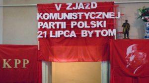 Le parti communiste de Pologne tient son 5e congrès.