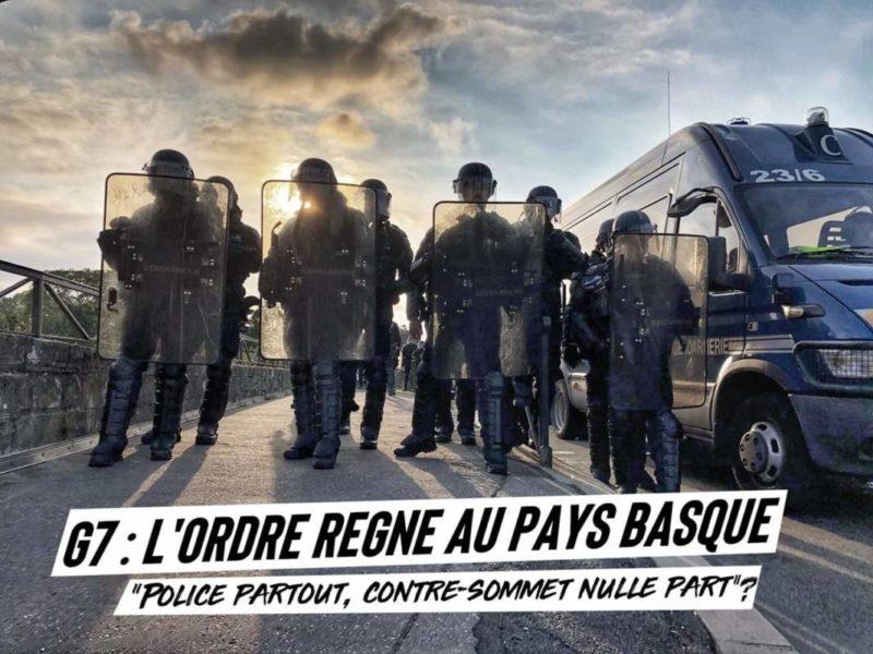 #G7 Macro-fascisation à Biarritz !
