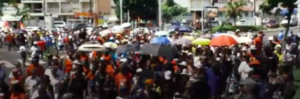 Grève et manifestations au C.H.U de Guadeloupe #SOSCHUGuadeloupe
