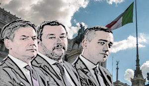 """Italie : à qui profite l'alliance des """"souverainistes"""" des deux rives ?"""